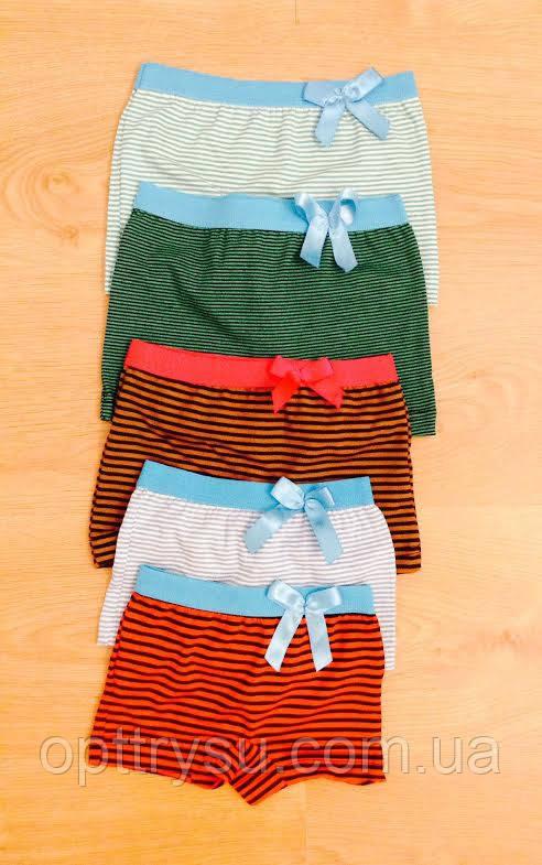 Трусы-шорты на девочку Полоска