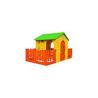 Mochtoys будиночок з двома тарасами №016