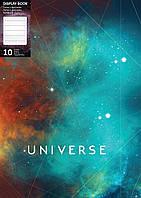"""Папка А4 с 10 файлами Optima """"Universe"""", ассорти, 600 мкм O32108"""