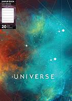 """Папка А4 с 20 файлами Optima """"Universe"""", ассорти, 600 мкм O32109"""