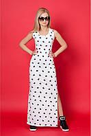 Женское платье на лето без рукав размер: 42,44,46,48
