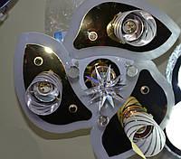 Люстра хрустальная, цена на сегодня,пульт LED, лампы 3+1,  недорого, фото 1