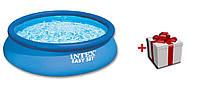 Intex 28143 детский надувной бассейн 396*84 см