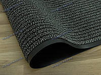 Дорожка грязезащитная Ибица, 90см., цвет серый, длина любая