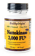 Защита от тромбов - Наттокиназа / Nattokinase, 100 мг 60 капсул