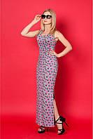 Длинное платье-майка для комфортной носки  размер: 42,44,46,48