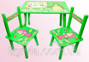 Парты-растишки, детские столики и стульчики