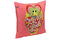 Подушка декоративная Owl Red Руно 50х50см