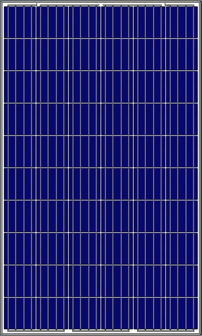 Сонячна батарея Amerisolar AS-6P30-265W (4BB)