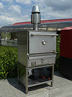 Печь закрытая на дровах BQB-3