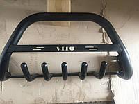 Кенгурятник Mercedes Vito 1996-2003 крашеный черный мат