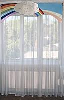 Жесткий ламбрекен Облака 2м, фото 1