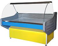 Универсальная холодильная Витрина Престиж с гнутым стеклом  (1 м, 1.2 м, 1.3 м, 1.5 м, 1.8 м, 2 м)