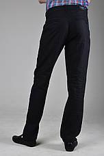 Черные льняные мужские брюки, фото 3