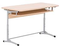 Стол ученический E-172 A black (ТМ Новый стиль, школьная парта, школьная мебель)