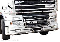 Крепление под ПТФ модельное для автомобилей DAF в решетку радиатора