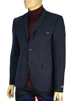 Темно-синий мужской пиджак Daniel Perry Alya 19 C-2