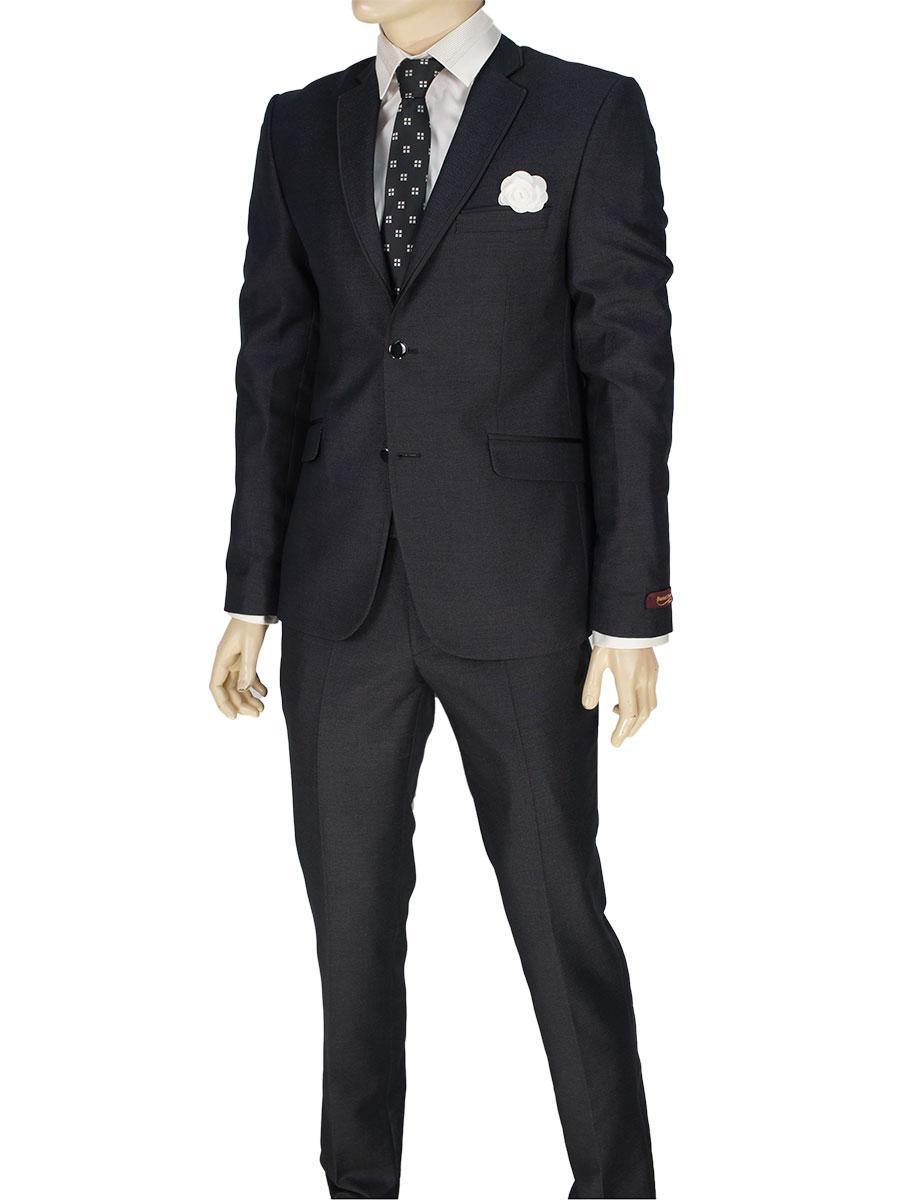 Мужской классический костюм Daniel Perry C.2 #5 темно-коричневого цвета