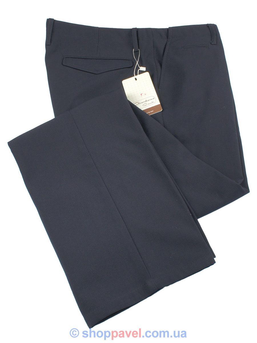 Мужские классические брюки Giordano Conti 0495 на флисе
