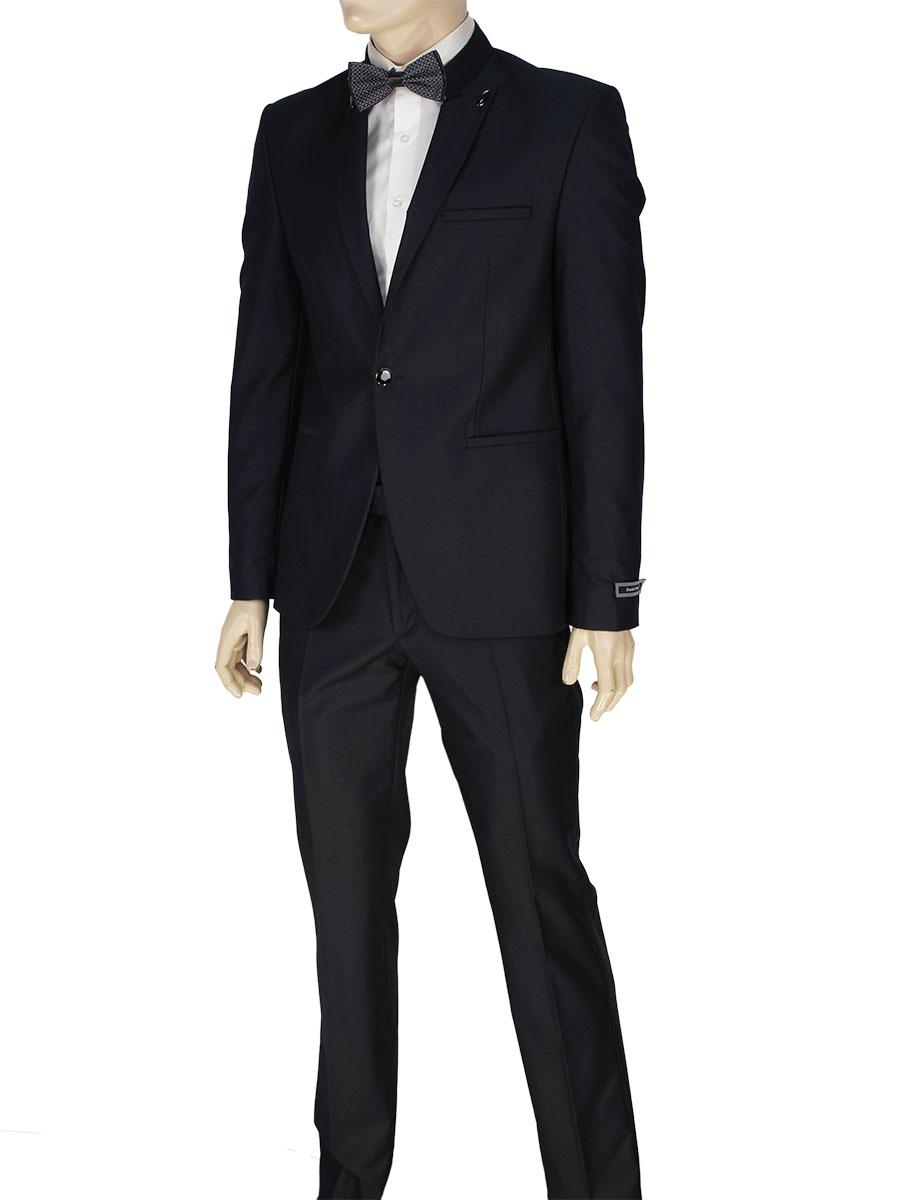 Мужской костюм Daniel Perry YT.300 в черном цвете