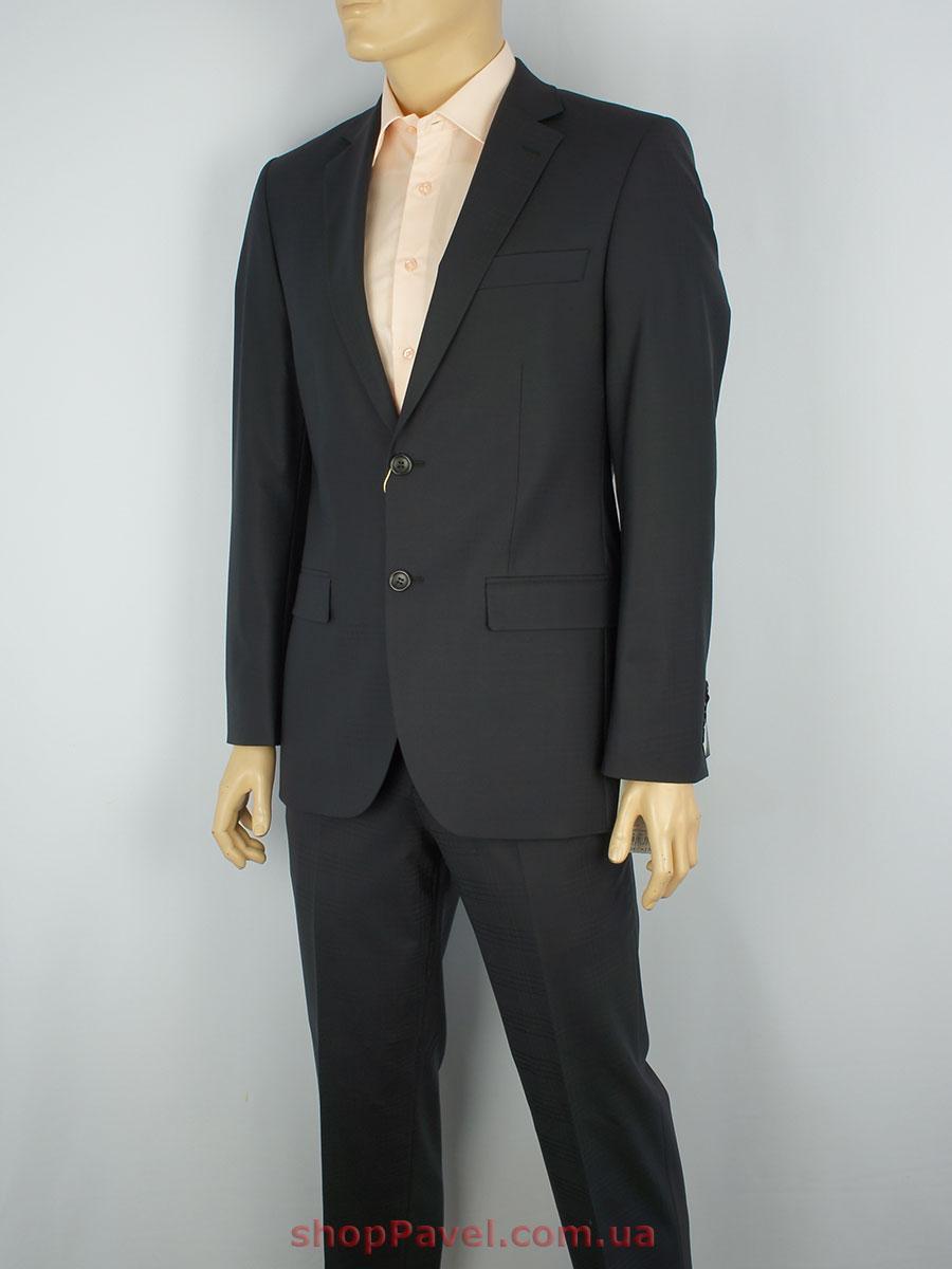 Чорний чоловічий класичний костюм Lubecker L-369