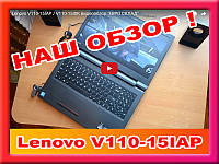 """Новые с гарантией Lenovo V110-15IAP=4 ЯДРА N3450 (1,10-2,2 Ггц)/4Гб/500Гб/15.6""""/DVD"""