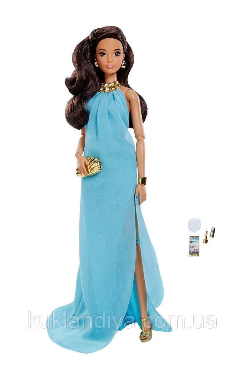 Коллекционная кукла Barbie Высокая мода Аквамариновое платье