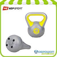 Гиря виниловая Hop-Sport 4кг, фото 1