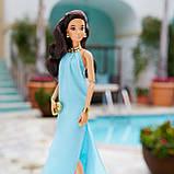 Коллекционная кукла Barbie Высокая мода Аквамариновое платье, фото 5