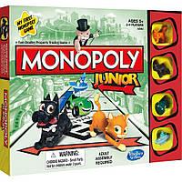 Настольная игра Hasbro Моя первая монополия (A6984)