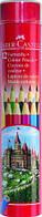 Цветные карандаши Faber-Castell 12 цветов металлический тубус 115826