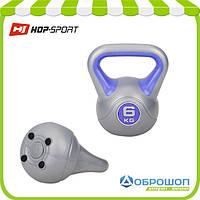 Гиря виниловая Hop-Sport 6кг, фото 1