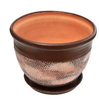 Горшок керамический для цветов Гермес