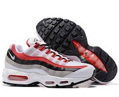Кросівки Nike Air Max 95 білі з червоним