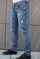Мужские джинсы синие  dolce&gabbana