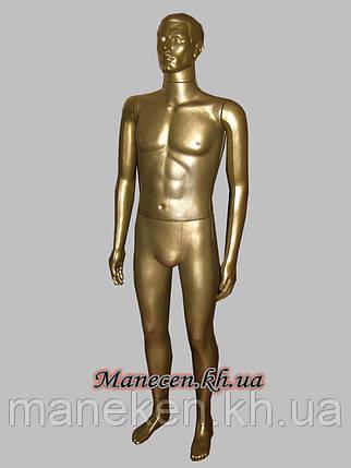Манекен в полный рост мужской Сен- бронза, фото 2