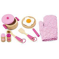 Набор Viga toys Маленький повар розовый (50116)