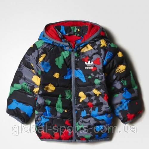 Детская куртка-пуховик adidas YWF (АРТИКУЛ:AZ5587)