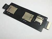 Разьём 2-х SIM и microSD Asus ZenFone 2 (ZE550CL, ZE550ML, ZE551ML), лицензия