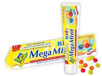 Зубная паста фруктовая жевательная Mega Mint KIDS 3985112