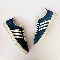 Кроссовки мужские Adidas Gazelle D1579 темно-синие