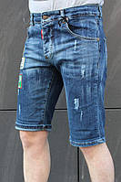 Мужские джинсовые шорты Dsquared2