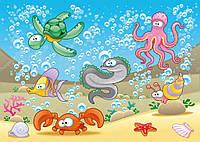 """Фотообои детские """"Подводный мир"""""""