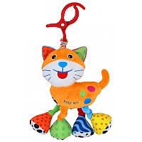 Мягкая игрушка подвеска Кот baby mix ef-te-8376-21