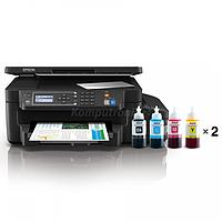 Принтер струйный МФУ Epson L605 фотопринтер, Wi-Fi