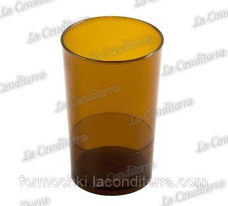 Пластиковый коричневый стакан для десертов Martellato PMOTO001.05 (65 мл)
