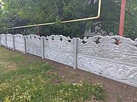 Заборы бетонные наборные Щорск. Купить с установкой от производителя.