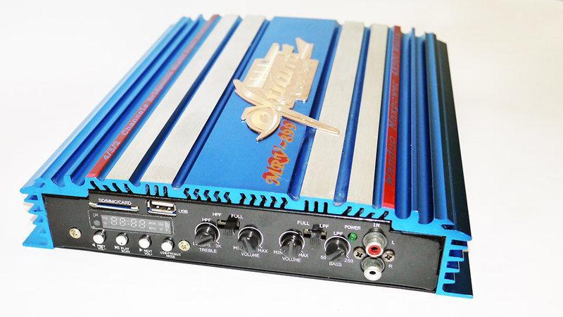 Автомобильный усилитель звука MRV-899
