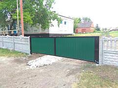 Заборы, ворота, калитки Щорск. Купить с установкой от производителя.
