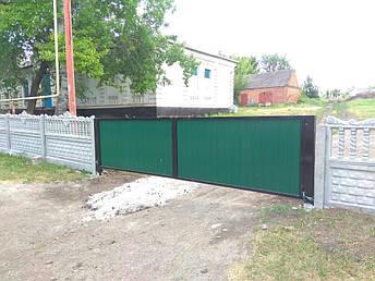 Заборы, ворота, калитки Щорск. Купить с установкой от производителя., фото 2
